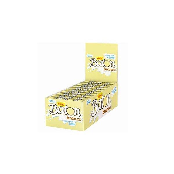 Chocolate Baton Branco com 30 unidades de 16g cada Garoto