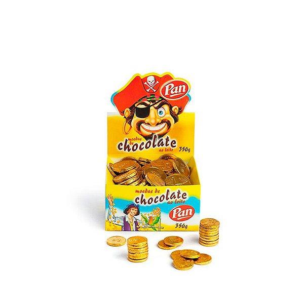 Moedas de chocolate 350g Pan