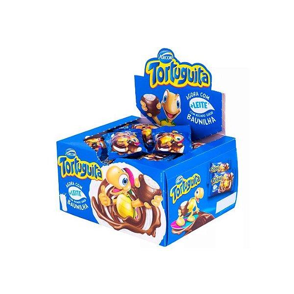 Chocolate Tortuguita Baunilha com 24 unidades de 18g cada Arcor