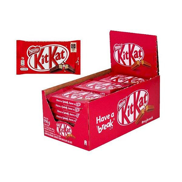 Kit Kat com 24 unidades de 41,5g cada Nestle