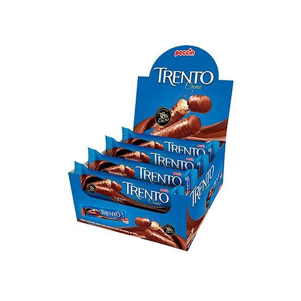 Wafer Trento Creme 38% Cacau com 16 unidades de 32g cada