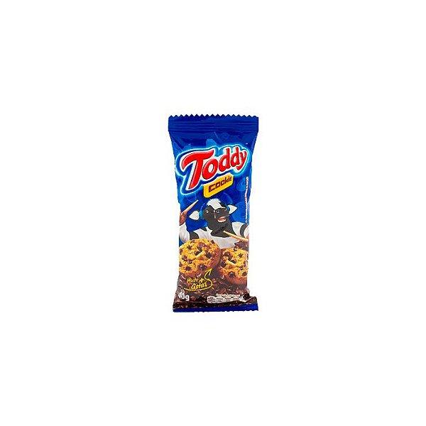 COOKIES TODDY BAUNILHA COM GOTAS DE CHOCOLATE 40g