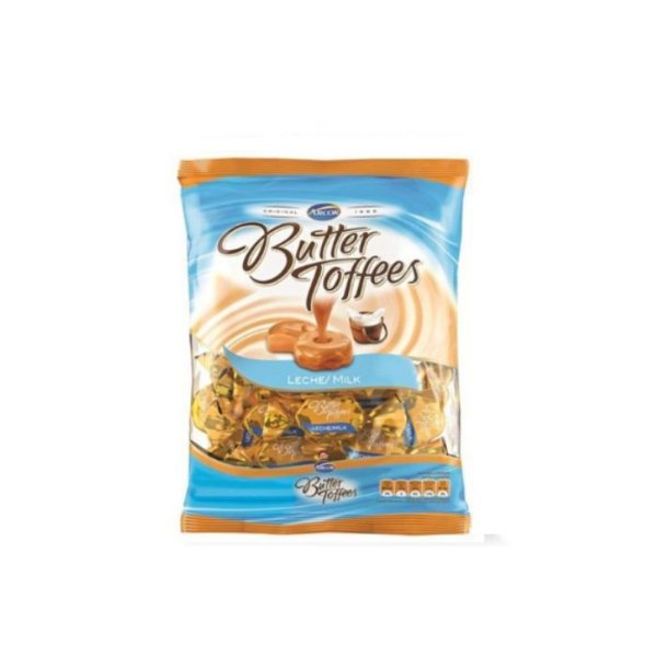 Bala Butter Toffees Leite 600g Arcor