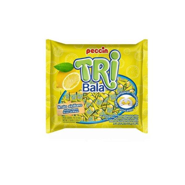 Bala Tribala Sabor Limão Siciliano Peccin 500g