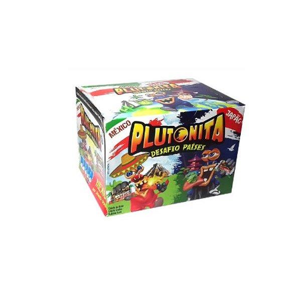 Chicletes Plutonita Desafio Paises 200g