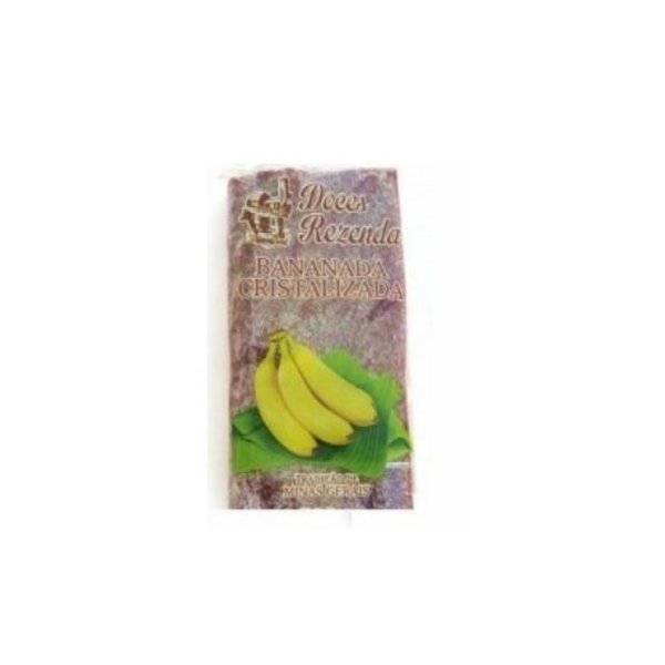 Bananada Cristalizada em Barra Doces Rezenda 470g