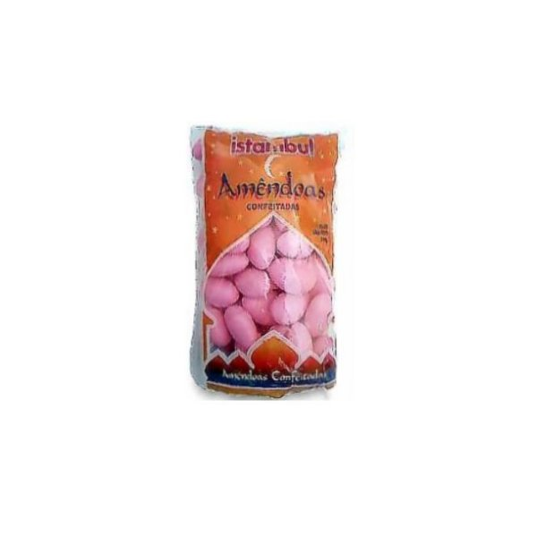 Amêndoas Confeitadas Rosa Istambul 200g
