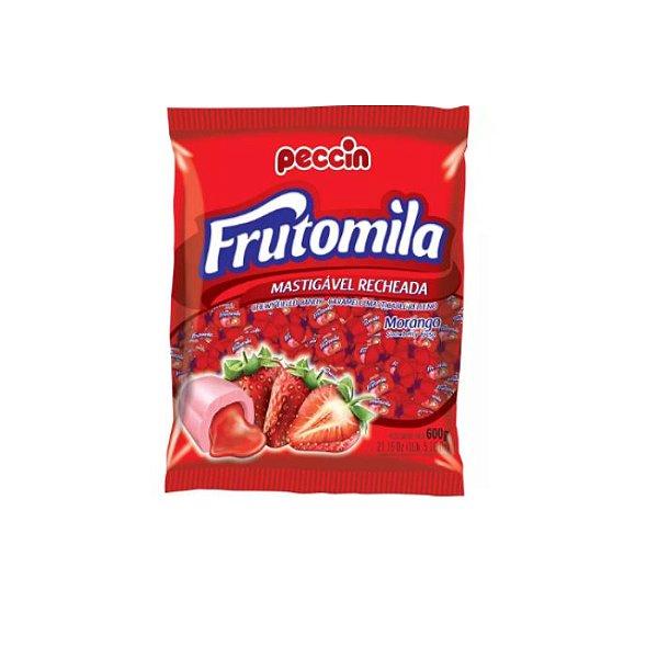 Bala Frutomila Morango Peccin 600g