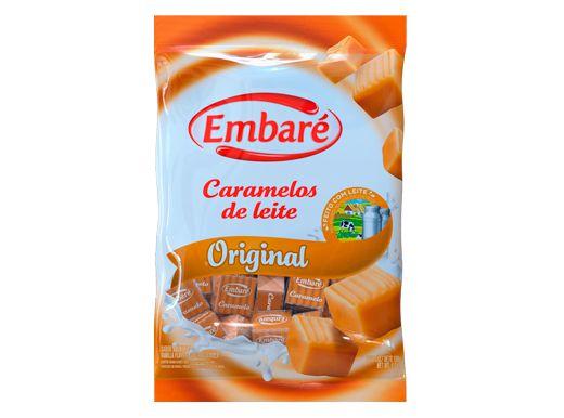 Bala Caramelos de leite original 660g Embaré