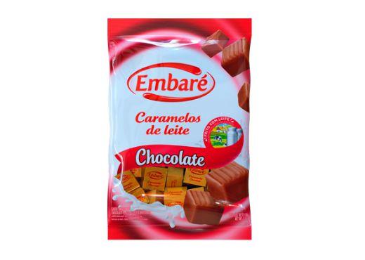 BALA CARAMELOS DE LEITE COM CHOCOLATE 660g
