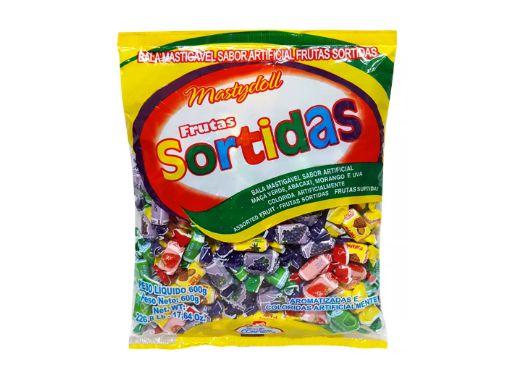 Bala Mastydoll Frutas Sortidas Confirma 600g