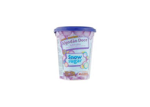 Algodão Doce Snow Sugar Uva 35g Mavalério