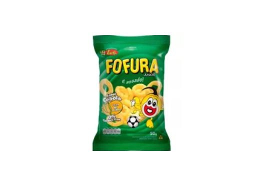 SALGADINHO FOFURA SABOR CEBOLA 50g