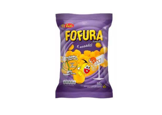 SALGADINHO FOFURA CONCHINHA SABOR CHURRASCO 50g