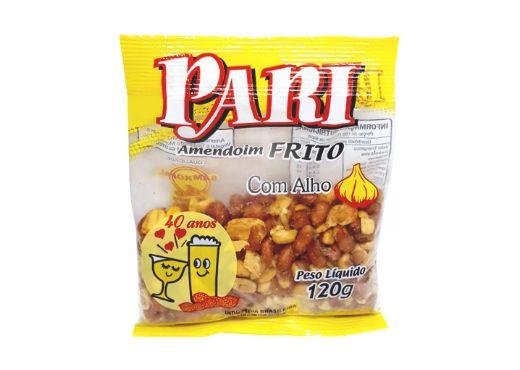 Amendoim Frito com Alho Pari 3 Pacotes de 120g