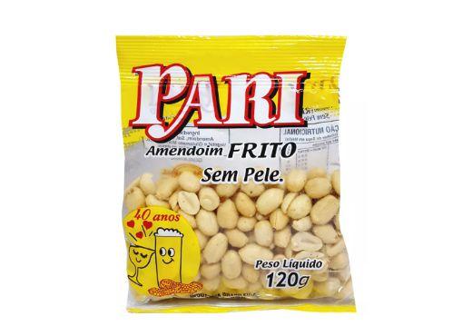 Amendoim Frito sem Pele Pari 3 Pacotes de 120g