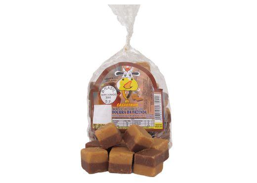 Doçura da Fazenda sabor Doce de Leite com Chocolate 250g