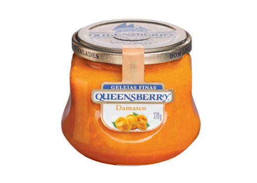 Geleia Fina QueensBerry sabor Damasco 320g