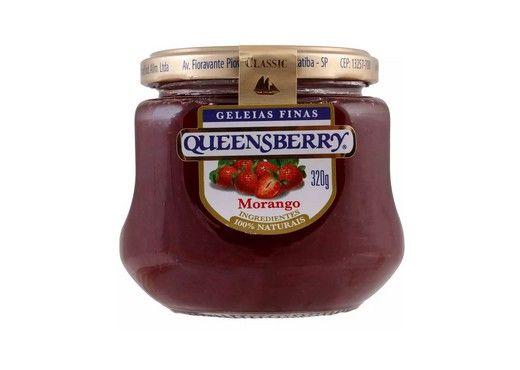 Geleia Fina QueensBerry sabor Morango 320g