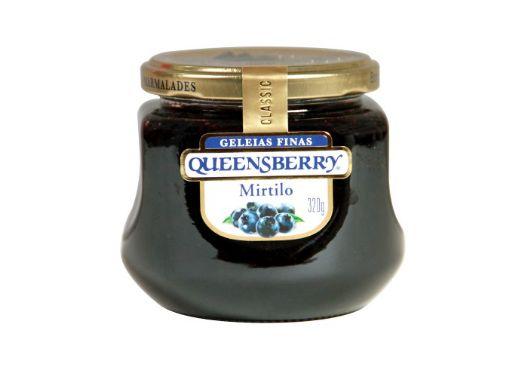 Geleia Fina QueensBerry sabor Mirtilo 320g