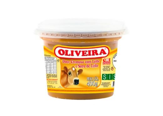 Doce Cremoso com Leite e soro de leite Oliveira 400g