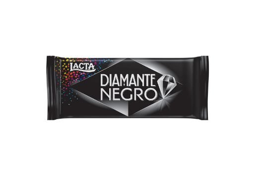 Barra de Chocolate Lacta Diamante Negro 90g