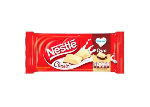 Barra de Chocolate Nestle Classic Duo 90g