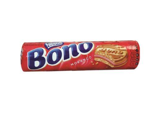 Biscoito Bono recheado sabor Morango 140g