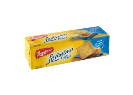 Biscoito Bauducco Levíssimo Água e Sal 200g