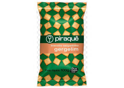 Biscoito Salgado com Gergelim Piraquê 100g