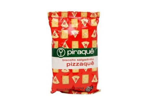 Biscoito Salgadinho Sabor Pizza Pizzaquê Piraquê 100g