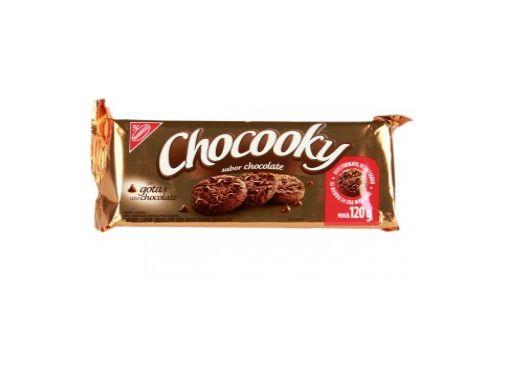 COOKIES CHOCOOKY SABOR CHOCOLATE COM GOTAS DE CHOCOLATE 120g