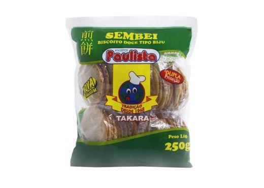 Biscoito Doce Tipo Biju Sembei 250g