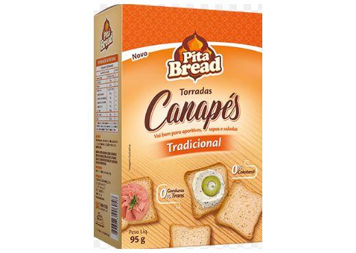 TORRADA CANAPÉ TRADICIONAL PITA BREAD 95g