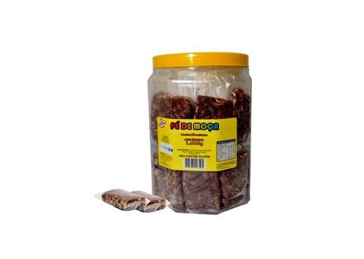 Pote de Doce de Amendoim Pé de Moça 20 unidades 1,01kg
