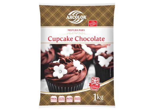 MISTURA PARA CUPCAKE CHOCOLATE ARCOLOR 1kg
