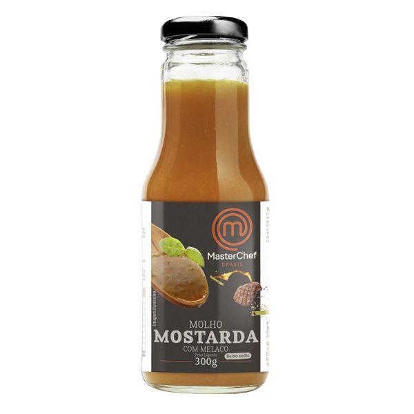 MOLHO DE MOSTARDA COM MELAÇO 330g