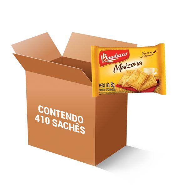 Biscoito Maizena Sachet Bauducco contendo 410 unidades