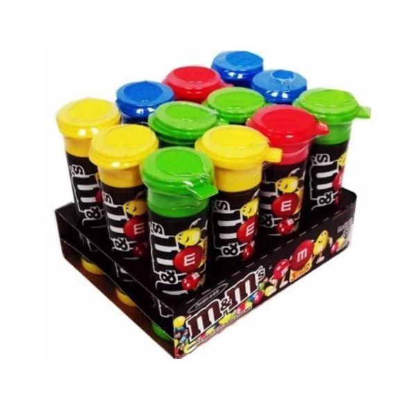 M&MS Tubo contendo 12 frascos
