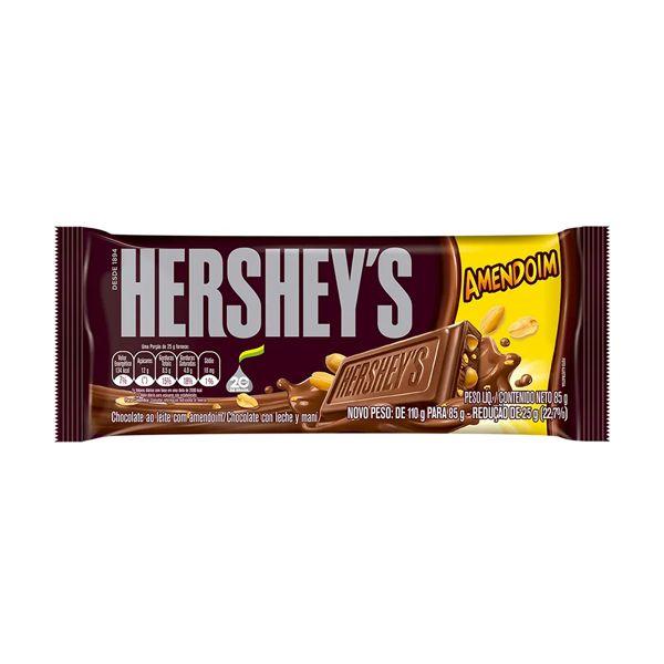 Barra de Chocolate Hersheys Amendoim 85g