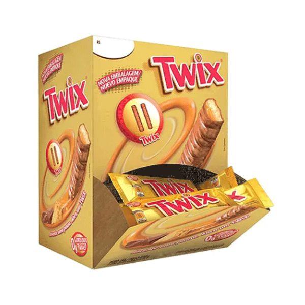 Chocolate Twix 15g contendo 30 unidades