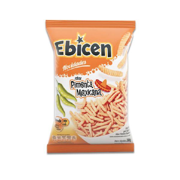 Salgadinho Ebicen Pimenta Mexicana 30g