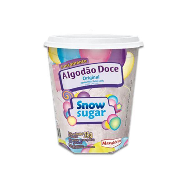Algodão Doce Snow Sugar Original 35g Mavalério