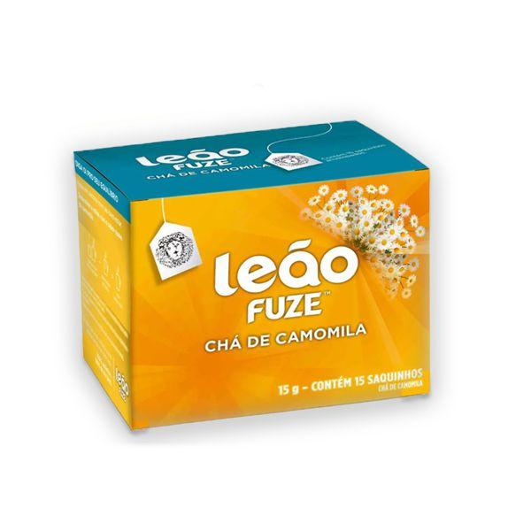 Chá de Camomila Envelopado Leão contendo 15 saquinhos