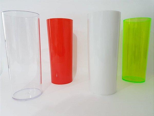 Copo long drink acrilico - Colorido