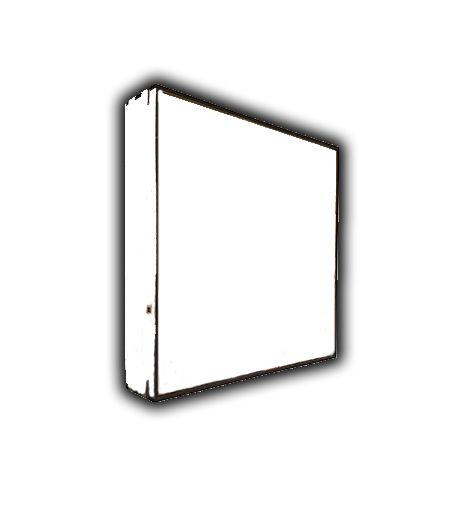 azulejo 20x20 + moldura mdf 3mm