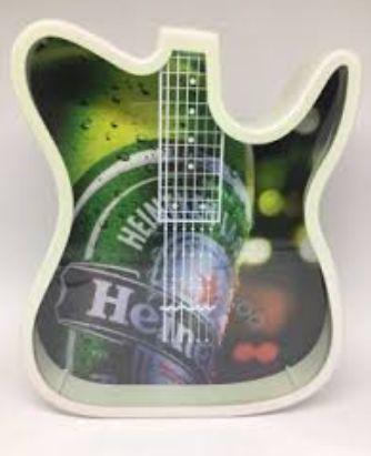 Quadro Guitarra de Polímero - Color