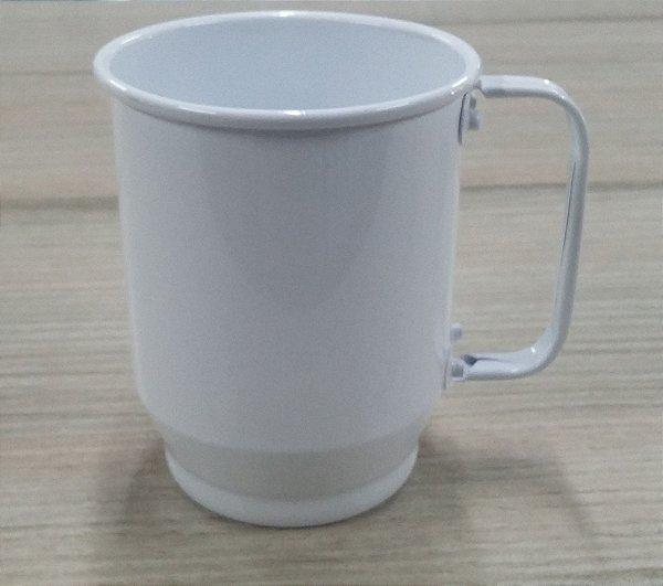 Caneca de chopp - Alumínio Branco