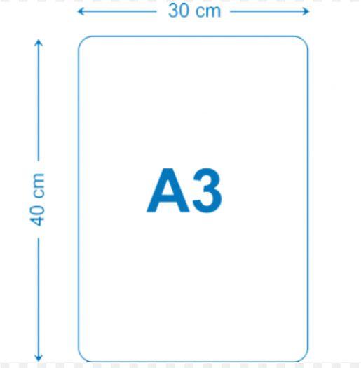 Placa de MDF 30x40 A3 para sublimacao