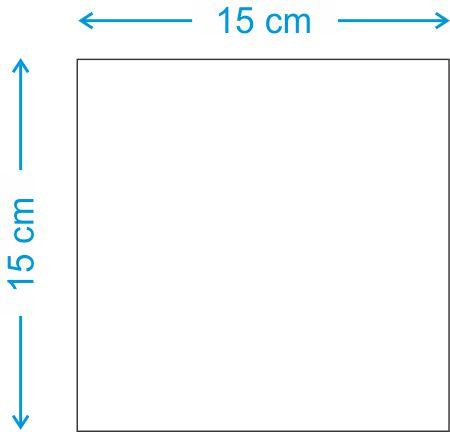 Placa MDF 15x15 Sublimavel